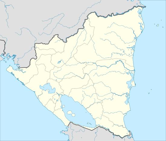 mapa hidrográfico nicaragua