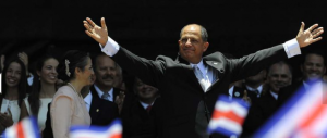 Costa Rica toma de posesión