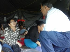 excombatientes huelga hambre