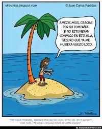 solo en una isla