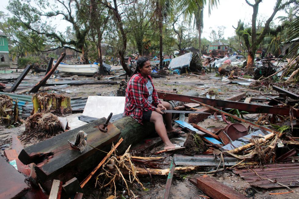 Muchos #nicaragüenses lo perdieron todo a causa del huracán Iota